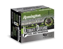 Remington Ultimate Defense 125 gr JHP .357 Mag Handgun Ammo, 20/box - 28920