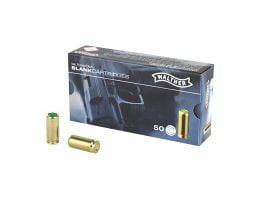 Umarex 9mm Blanks for 9mm PAK self loading replica's only, 50 rds/box - 2252753