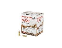 Winchester 22LR Ammo 36 Grain Hollow Point 555 Round Brick - 22LR555HP