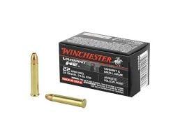 Winchester 22 WMR Ammo 34 Grain JHP  50 rds/box - S22WM