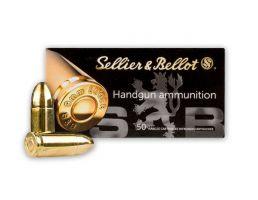 Sellier & Bellot 9mm 124gr FMJ Ammunition 50rds