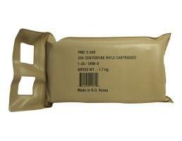 PMC X-Tac 5.56mm 55gr FMJ Ammunition 200rd Sealed Battle Pack - 5.56X-BP
