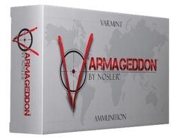 Nosler 243 Win 55 grain Varmageddon Rifle Ammo, 20/Box - 65165