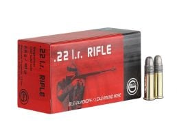 GECO .22 Long Rifle 40gr Lead Round Nose Ammunition, 50 Round Box _ 2318599