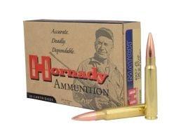 Hornady 8x57 JS / 8mm Mauser 196gr BTHP Vintage Match Centerfire Ammunition, 20 Rounds - 82298