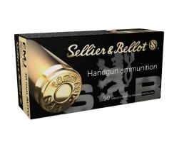 Sellier & Bellot 10mm Auto 180gr FMJ Ammunition, 50 Round Box - SB10A