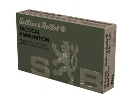 Sellier & Bellot 300 AAC Blkout 124gr FMJ  20rds  SB300BLKA