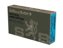 Sellier & Bellot 300 AAC Blackout 200gr FMJ Sub-Sonic Ammunition 20rds - SB300BLKSUBA