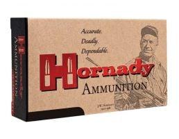 Hornady 22 Hornet 45gr SP Match Custom Ammunition, 50 Round Box
