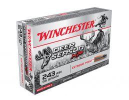 Winchester 243 95gr Deer Season XP, 20 Round Box - X243DS