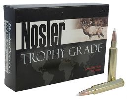 Nosler Trophy Grade 280 Rem 140 grain AccuBond Rifle Ammo, 20/Box - 48545