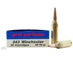 PRVI Partizan 243 90gr SP Ammunition 20rds - PP2.5