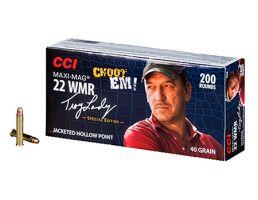 "CCI .22 WMR Maxi Mag 40gr JHP ""Swamp People"" Ammunition 200rds - 958"
