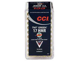 CCI .17 HMR 16gr TNT Green HP Ammunition 50rds - 951