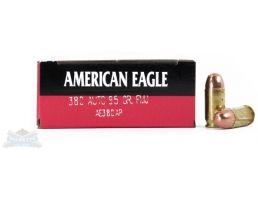 American Eagle 380 Auto/ACP 95gr FMJ Ammunition 50rds - AE380AP
