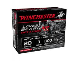 "Winchester Long Beard XR 3"" 20 Gauge Ammunition, 10rds"