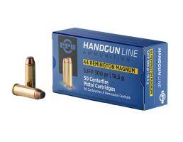 Prvi Partizan .44 Remington Magnum SJFP 300gr 50 Rounds Ammunition - PPH44MF