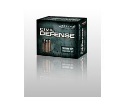 Liberty 9mm+P 50gr HP Civil Defense Ammunition 20rds - LA-CD-9-014