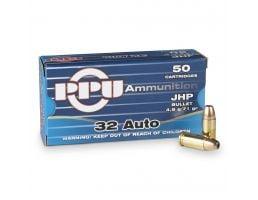 Prvi 32 Auto 71 gr JHP 50 Rounds Ammunition - PPD32A