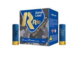 "RIO 12 ga Top Game High Velocity 2.75"" #7.5 1-1/4oz 25 Shotshells - TGHV3675"