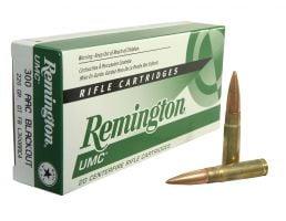 Remington UMC 300 AAC Blackout 220gr OTFB Ammunition 20rds - L300AAC4