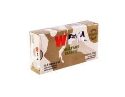 Wolf Steel Case 6.5 Grendel 100 gr FMJ 20 Rounds Ammunition - WPA65GrenFMJ