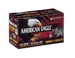 "American Eagle ""Varmint/Predator"" 223 Rem 50gr JHP"