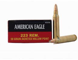 American Eagle 223 50gr JHP Ammunition 20rds - AE223G