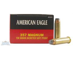 American Eagle 357 Magnum 158gr JSP Ammunition 50rds - AE357A