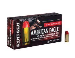 American Eagle 45 Auto/ACP 230gr TSJ (Total Synthetic Jacket) Ammunition 50rds - AE45SJ1