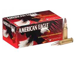 American Eagle 6.8 SPC 115gr FMJ Ammunition 20rds - AE68A