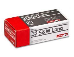 Aguila 32 S*W Long 98gr Soft Point Ammunition 50rds - 1E322340