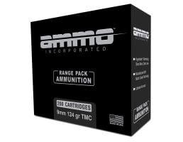Ammo Inc 124 gr TMC 9mm Ammunition 200 Round Range Pack For Sale