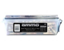 Ammo Inc 150 gr FMJ .300 AAC 200 Round Ammo Can