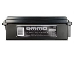 Ammo Inc 155 gr BTHP Match .300 Blackout Ammunition 200 Round Ammo Can For Sale