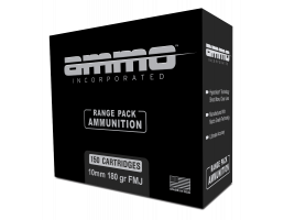 ammo inc 10mm ammo fmj 180 grain 150 round range pack