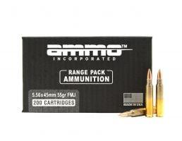Ammo Inc Signature  5.56x54mm 55gr FMJ 200rd Range Pack