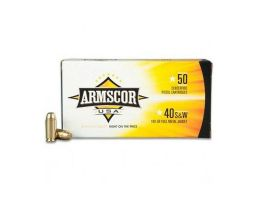Armscor 180 gr FMJ .40 S&W Ammunition 50 Rounds