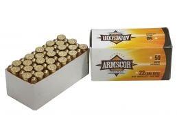 Armscor 40 gr HVSP .22 LR Ammunition, 50 Rounds