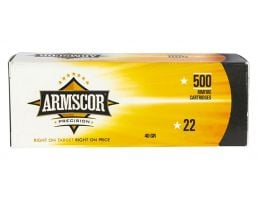 ArmsCor 40 Grain .22 LR Ammunition HP, 500 Rounds - 50012PH
