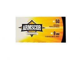 Armscor 9mn 115 gr FMJ 50 Rounds Ammunition