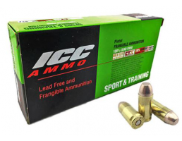 atomic 40 s&w ammo 125 grain frangible