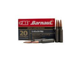 Barnaul 60 gr FMJ 5.45x39mm Ammunition 20 Rounds