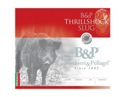 "Baschieri & Pellagri ThrillShock 2.75"" 1 1/8 oz 12 Gauge Slug, Box of 10"