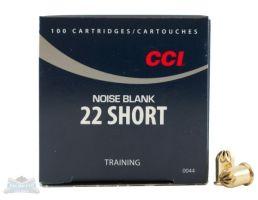 CCI .22 Long/Short/Long Rifle Noise Blank Cartridges 50rds - 0044