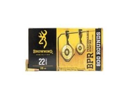 Browning BPR 26 gr HP .22 LR Ammunition 800 Rounds