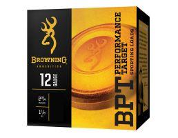 """Browning BPT 2.75"""" 1 1/8 oz 7.5 Shot 12 Gauge Ammunition 25 Rounds"""
