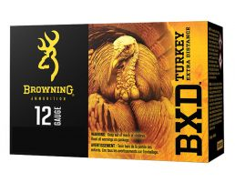 "Browning BXD Turkey 3"" 1 5/8 oz 5 Shot 12 Gauge Ammunition 10 Rounds"