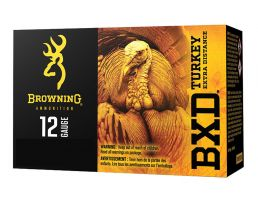 "Browning BXD Turkey 3.5"" 1 7/8 oz 5 Shot 12 Gauge Ammunition 10 Rounds"