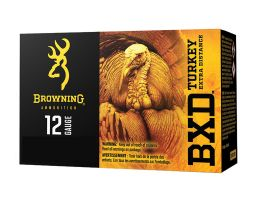 "Browning BXD Turkey 3.5"" 1 7/8 oz 4 Shot 12 Gauge Ammunition 10 Rounds"